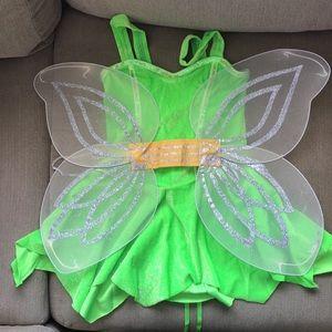 Tinker Bell Costume Size Medium/Large
